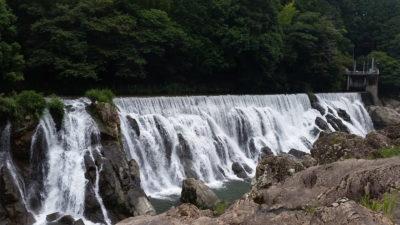 長篠堰堤ナイアガラ